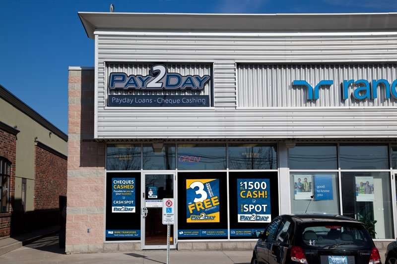 Welcome to Pay2Day: Brampton's Queen & Chrysler Location