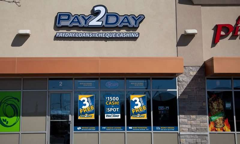 Vaughan payday loans store