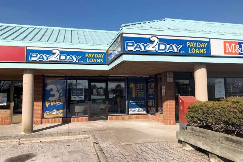 Payday loans St. Catharines