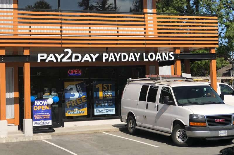 Pay2day payday loans