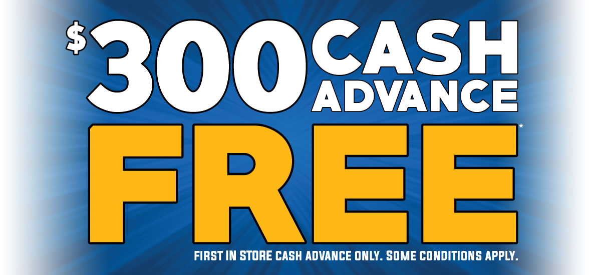 $300 Cash Advance Free