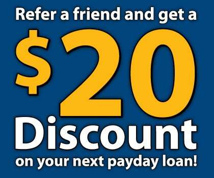 discount on payday loan