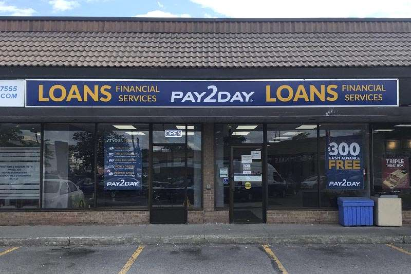 Payday loans store in Pickering