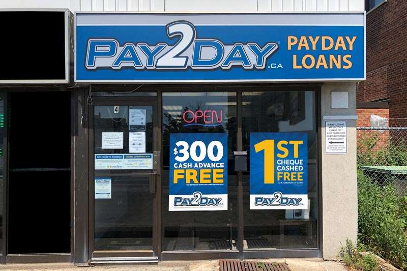 Payday loans Mississauga